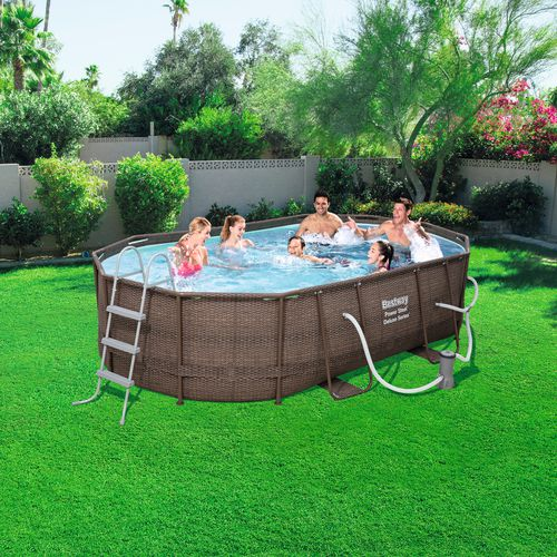 Bestway pool oval obi