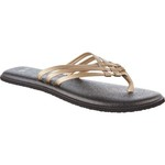 Sanuk Women's Yoga Salty Metallic Flip-Flops - view number 2