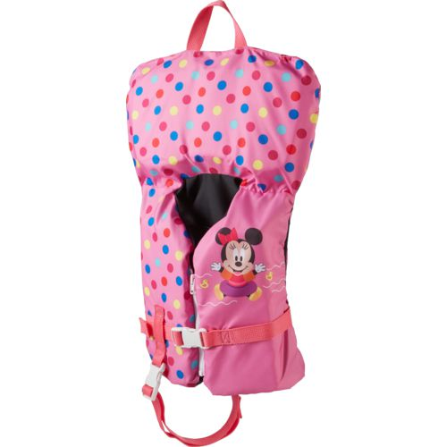 SwimWays Infants' Sea Squirts Disney Baby Minnie Mouse Life Jacket