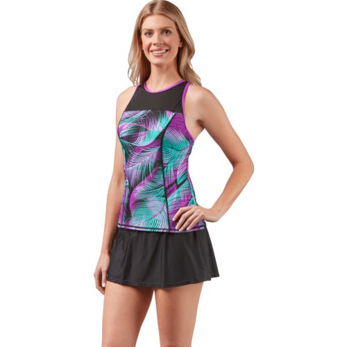 Gerry Women's Swim Sporty Tankini Swim Top