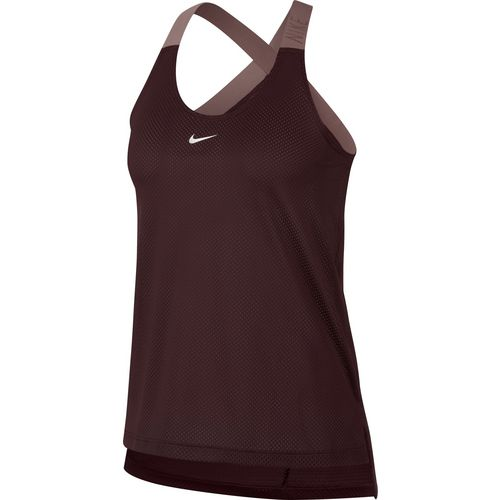 Nike Women's Dry Mesh Logo Training Tank Top - view number 3
