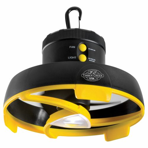 Timber Creek Led Tent Light And Fan Academy