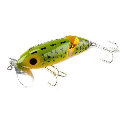 Academy arbogast jointed jitterbug 3 1 2 fishing lure for Jitterbug fishing lure