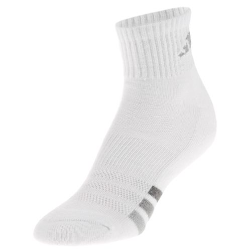 adidas Women's Cushioned Variegated Quarter Socks 3-Pack