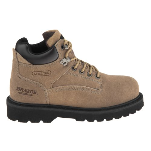 Brazos  Women s Dane III Steel-Toe Work Boots