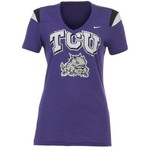 Nike Women's Texas Christian University Replica T-shirt