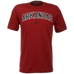 Nike Men's University of Arkansas Short Sleeve Classic Arch T-shirt