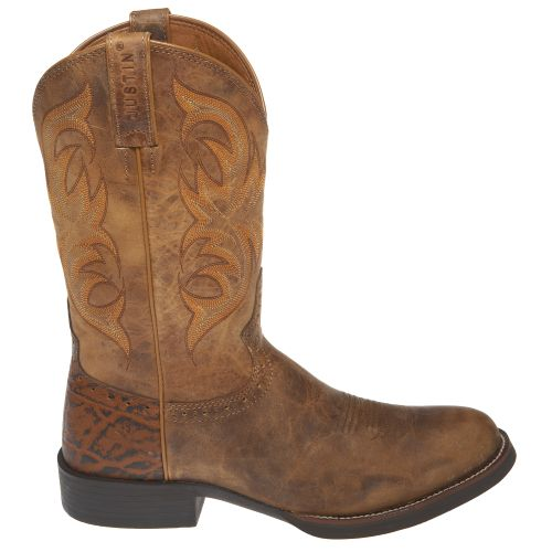 Justin Men's Stampede Counter Cowboy Boots