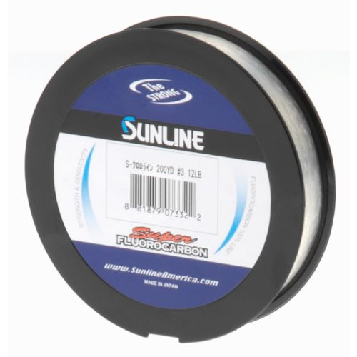 Image for Sunline Super Fluorocarbon 12 lb. - 200 yards Fishing Line from Academy