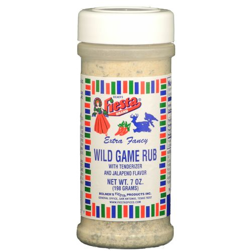 Display product reviews for Bolner Fiesta 7 oz. Wild Game Rub
