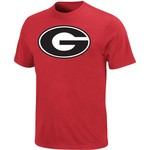 Majestic Adults' University of Georgia Section 101 Football Icon T-shirt