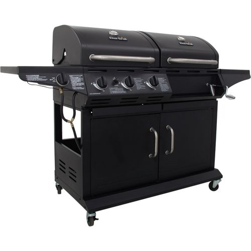 Char-Broil  3-Burner Liquid Propane and Charcoal Grill