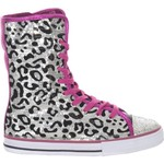 Tredz™ Girls' Cheetah High-Top Athletic Lifestyle Shoes