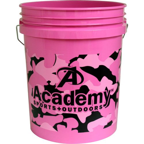 Leaktite Pink Camo 5-Gallon Bucket