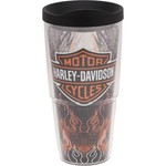 Tervis Harley-Davidson Fire and Wings Wrap 24 oz. Tumbler with Lid