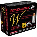 Winchester Train and Defend .380 Auto 95-Grain Centerfire JHP Pistol Ammunition - view number 1