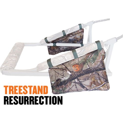 Display product reviews for Cottonwood Outdoors Weathershield Treestand Resurrection Side Accessory Bags 2-Pack
