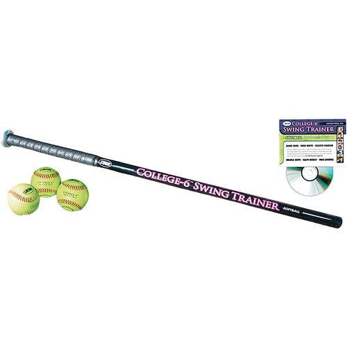 JUGS College-6™ Swing Trainer Softball Bat Package