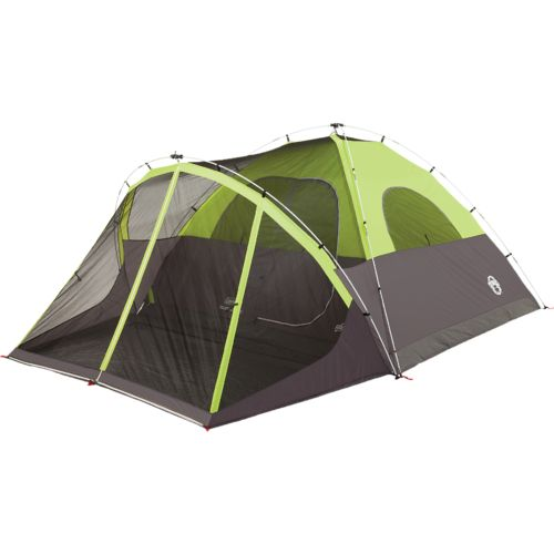 Coleman Steel Creek Fast Pitch 6 Person Dome Tent  sc 1 st  Academy Sports + Outdoors & Tents | Academy