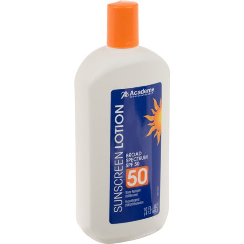 Academy Sports + Outdoors™ Broad Spectrum SPF 50 Sunscreen Lotion