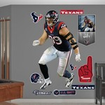 Fathead Houston Texans J.J. Watt #99 Sack Master Team and Player Decals 10-Pack
