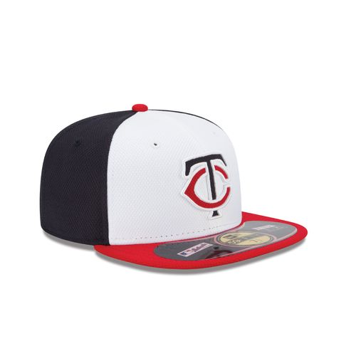 New Era Men's Minnesota Twins 2015 Home Diamond Era Cap - view number 2