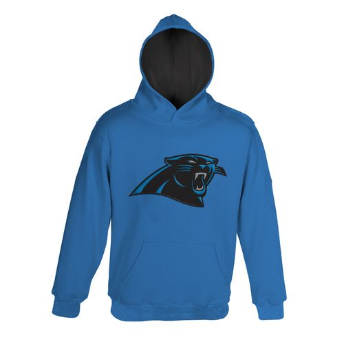 NFL Boys' Carolina Panthers Primary Pullover Hoodie