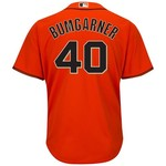 Majestic Men's San Francisco Giants Madison Bumgarner #40 Cool Base® Jersey - view number 1