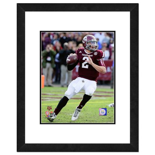Photo File Texas A&M University Johnny Manziel 8' x 10' Action Photo
