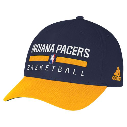 adidas™ Men's Indiana Pacers Structured Adjustable Practice Cap