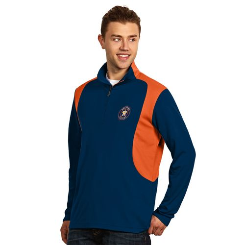 Antigua Men's Houston Astros Delta Pullover - view number 1