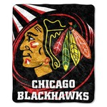 The Northwest Company Chicago Blackhawks Jersey Sherpa Throw - view number 1