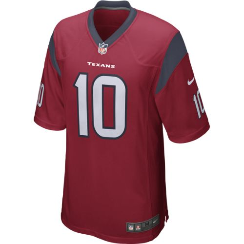 Nike Men's Houston Texans DeAndre Hopkins 10 Game Jersey - view number 2