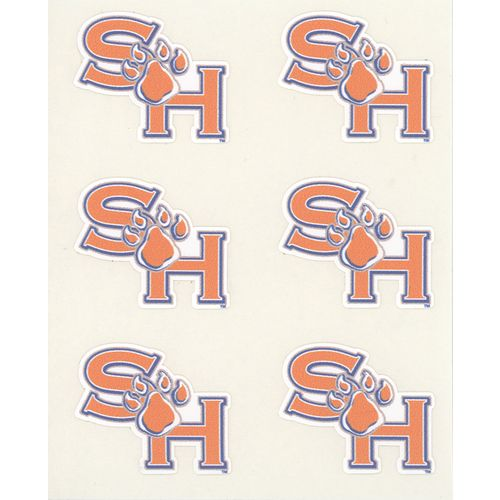 Stockdale Sam Houston State University Face Decals 6-Pack