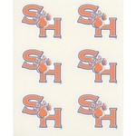 Stockdale Sam Houston State University Face Decals 6-Pack - view number 1