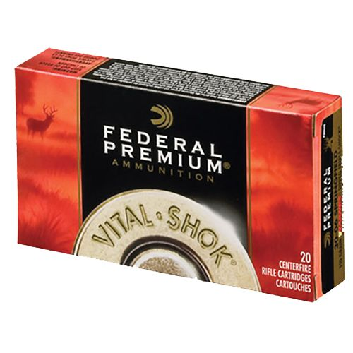 Federal Premium Vital-Shok 22-250 Remington 60-Grain Centerfire Rifle Ammunition