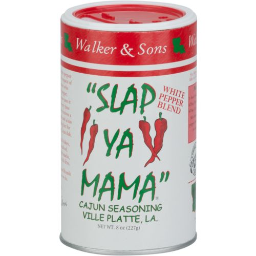 Display product reviews for Slap Ya Mama White Pepper Seasoning