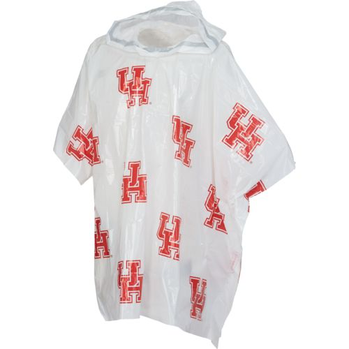 Storm Duds Men's University of Houston Lightweight Stadium Rain Poncho