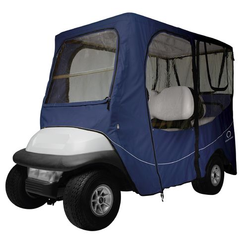 Classic Accessories Deluxe Long Roof Golf Cart Enclosure