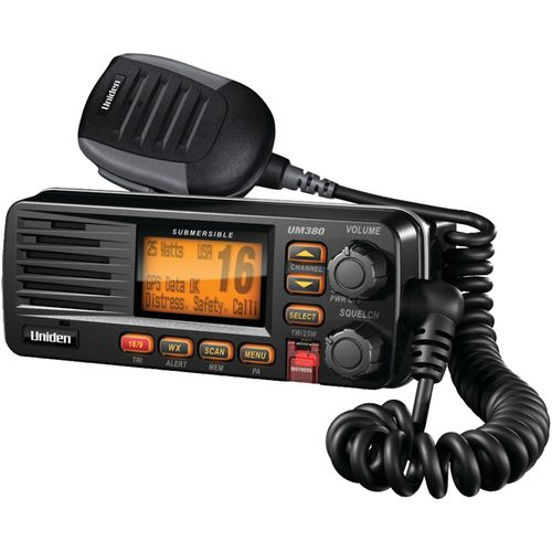 Uniden Fixed Mount VHF/2-Way Marine Radio