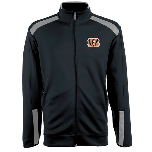 Antigua Men's Cincinnati Bengals Flight Jacket