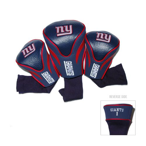 Team Golf New York Giants Contour Sock Head Covers 3-Pack