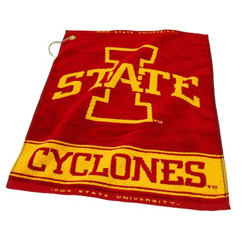 Team Golf Iowa State University Woven Towel