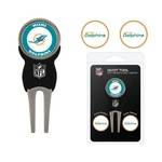 Team Golf Miami Dolphins Divot Tool and Ball Marker Set - view number 1