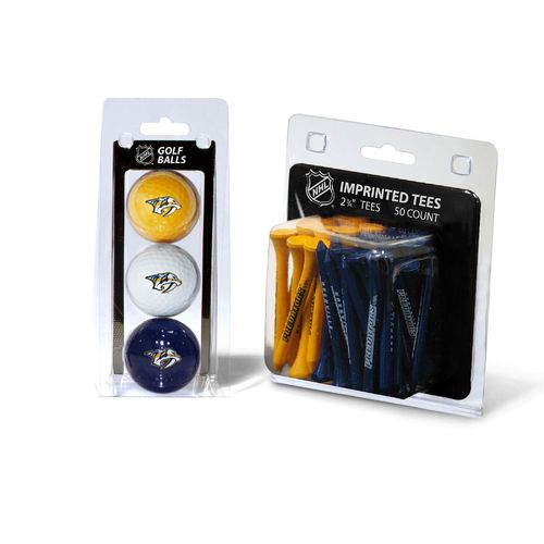 Team Golf Nashville Predators Golf Ball and Golf Tee Set - view number 1