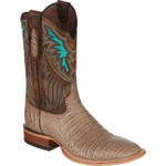 Tony Lama Men's Cigar Vintage Belly Label Caiman Western Boots - view number 2