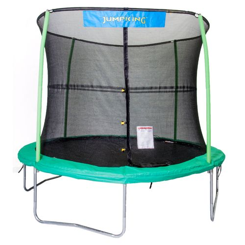 Jumpking 10' Round Trampoline with Enclosure
