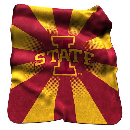 Logo Iowa State University Raschel Throw