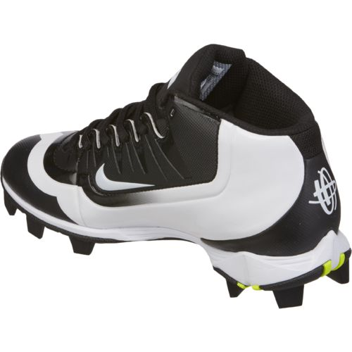 Nike Boys' Huarache 2KFilth Keystone Mid Baseball Cleats - view number 3