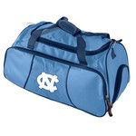 Logo University of North Carolina Athletic Duffel Bag